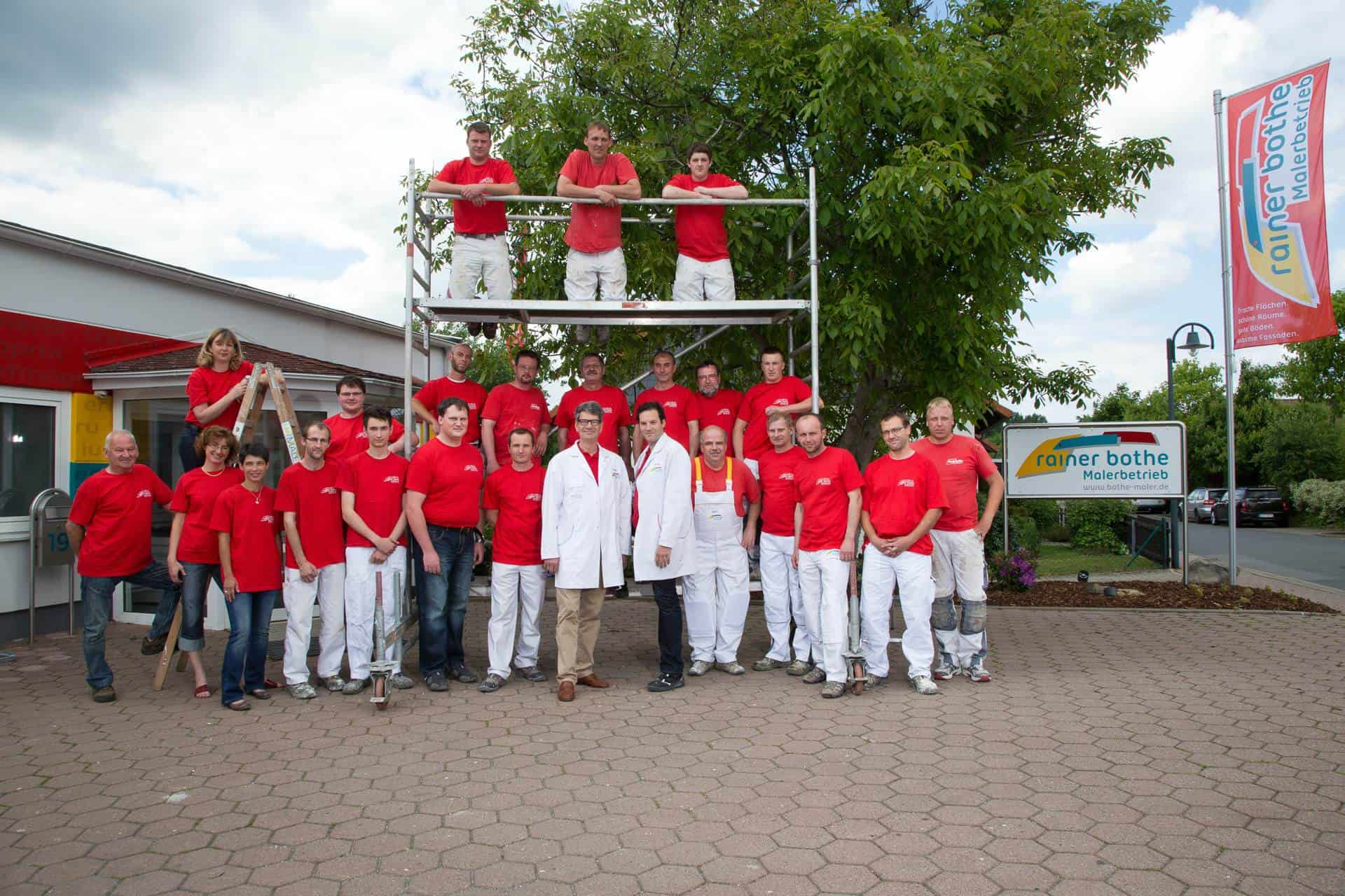 Ihr Team von Rainer Bothe Malerbetrieb GmbH